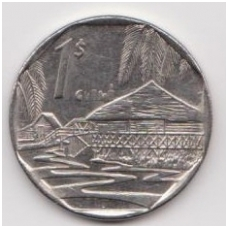 KUBA 1 PESO 2007 KM # 579.2 VF