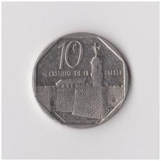 KUBA 10 CENTAVOS 1994 KM # 576.1 VF-XF