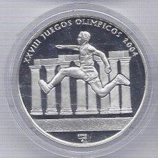 KUBA 10 PESOS 2002 KM # 734 PROOF OLIMPINĖS ŽAIDYNĖS