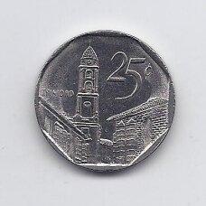 KUBA 25 CENTAVOS 2006 KM # 577.2 VF-XF