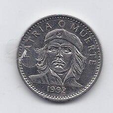 KUBA 3 PESOS 1992 KM # 346a VF