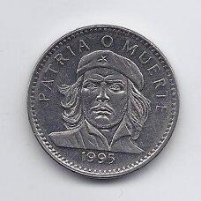 KUBA 3 PESOS 1995 KM # 346a VF