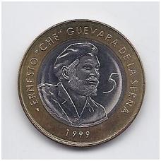 5 PESOS 1999 (2004) KM # 730 AU
