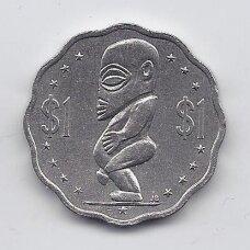 KUKO SALOS 1 DOLLAR 1987 KM # 37 VF