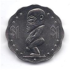 KUKO SALOS 1 DOLLAR 2003 KM # 416 AU