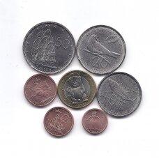 KUKO SALOS 2010 m. 7 monetų komplektas