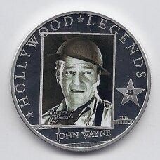 KUKO SALOS 5 DOLLARS 2010 KM # 1253 UNC John Wayne