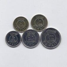 KUVEITAS 2012 - 2013 m. 5 monetų rinkinys