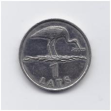 LATVIJA 1 LATS 2001 KM # 54 XF