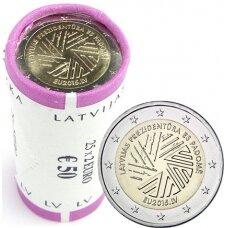 LATVIA 2 EURO 2014 EU PRESIDENCY ROLL (25 pcs.)