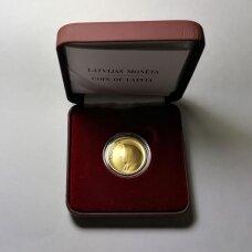 LATVIJA 20 LATU 2008 KM # 96 PROOF Latvijos moneta