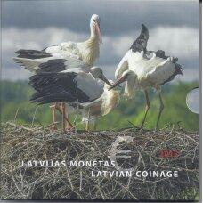 LATVIJA 2015 m. OFICIALUS BANKINIS EURO MONETŲ RINKINYS