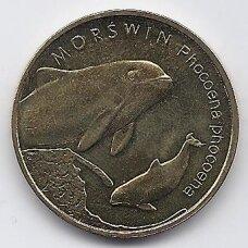 LENKIJA 2 ZLOTAI 2004 JŪRŲ KIAULĖ