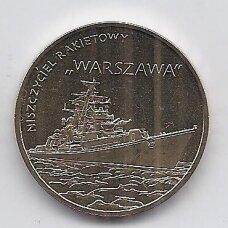 """LENKIJA 2 ZLOTAI 2013 Y # 859 AU Laivas """"Warszawa"""""""
