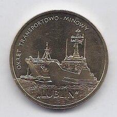 "LENKIJA 2 ZLOTAI 2013 Y # 862 AU Laivas ""Lublin"""