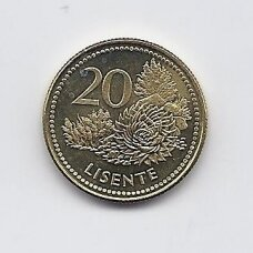 LESOTAS 20 LISENTE 1998 KM # 64 XF