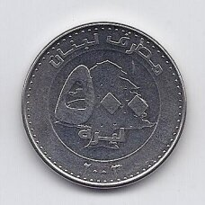 LIBANAS 500 LIVRES 2003 KM # 39 XF