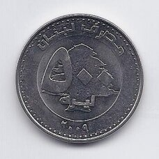 LIBANAS 500 LIVRES 2009 KM # 39 XF