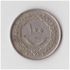 LIBIJA 100 DIRHAMS 1979 KM # 23 VF