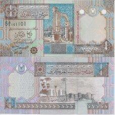 LIBIJA 1/4 DINAR 2002 ND P # 62 UNC