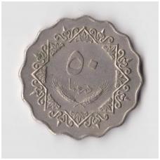 LIBIJA 50 DIRHAMS 1979 KM # 22 XF