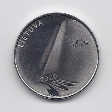 LITHUANIA 1.50 EURO 2020 KM # new HOPE COIN