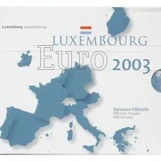 LIUKSEMBURGAS 2003 m. OFICIALUS BANKINIS RINKINYS