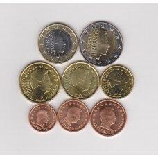 LIUKSEMBURGAS 2006 m. pilnas euro komplektas