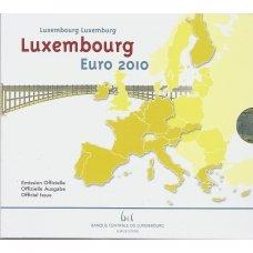 LIUKSEMBURGAS 2010 m. OFICIALUS BANKINIS RINKINYS SU PROGINE 2 EURŲ MONETA