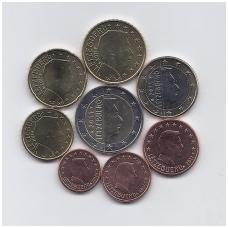 LIUKSEMBURGAS 2011 m. pilnas euro komplektas