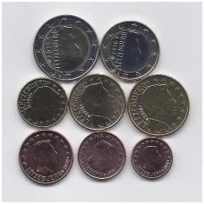 LIUKSEMBURGAS 2018 m. pilnas euro komplektas