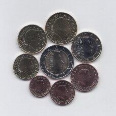 LIUKSEMBURGAS 2020 m. pilnas euro komplektas