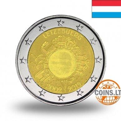 LIUKSEMBURGAS 2 EURAI 2012 10M. EURUI