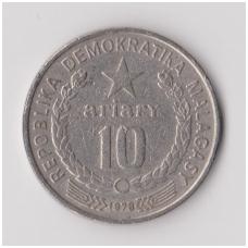 MADAGASKARAS 10 ARIARY 1978 KM # 13 VF
