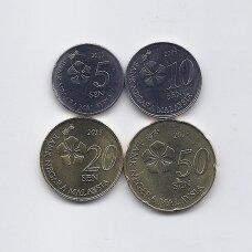 MALAIZIJA 2013 m. 4 monetų rinkinys