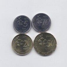 MALAIZIJA 2014 m. 4 monetų rinkinys