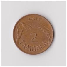 MALAVIS 2 TAMBALA 1984 KM # 8.2a VF