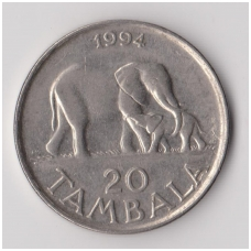 MALAVIS 20 TAMBALA 1994 KM # 11.2a VF