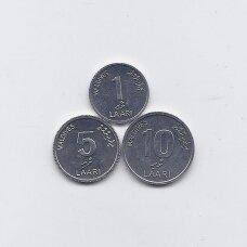 MALDYVAI 2012 m. 3 monetų rinkinys