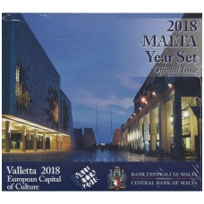 MALTA 2018 m. OFICIALUS BANKINIS RINKINYS