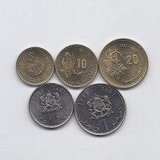 MAROKAS 1987 m. 5 monetų rinkinys (XF-UNC)