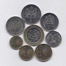 MAROKAS 2002 m. 8 monetų rinkinys