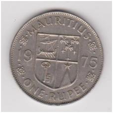 MAURICIJUS 1 RUPEE 1975 KM # 35 VF