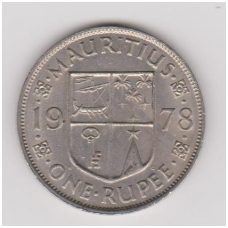 MAURICIJUS 1 RUPEE 1978 KM # 35 VF
