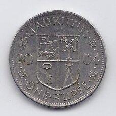 MAURICIJUS 1 RUPEE 2004 KM # 55 VF/XF