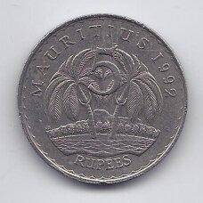 MAURICIJUS 5 RUPEES 1992 KM # 56 VF