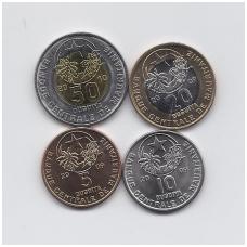 MAURITANIJA 2009 - 2010 m. 4 monetų rinkinukas