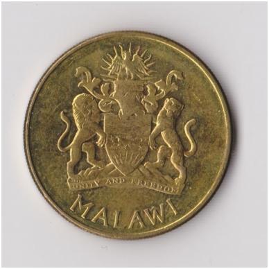 MALAVIS 1 KWACHA 2004 KM # 65 VF-XF 2