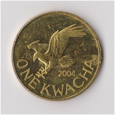 MALAVIS 1 KWACHA 2004 KM # 65 VF-XF