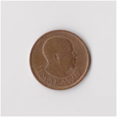 MALAVIS 1 TAMBALA 1971 KM # 7.1 VF 2